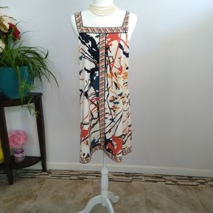 Bcbgmaxazria midi dress size large
